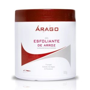 esfoliante de arroz